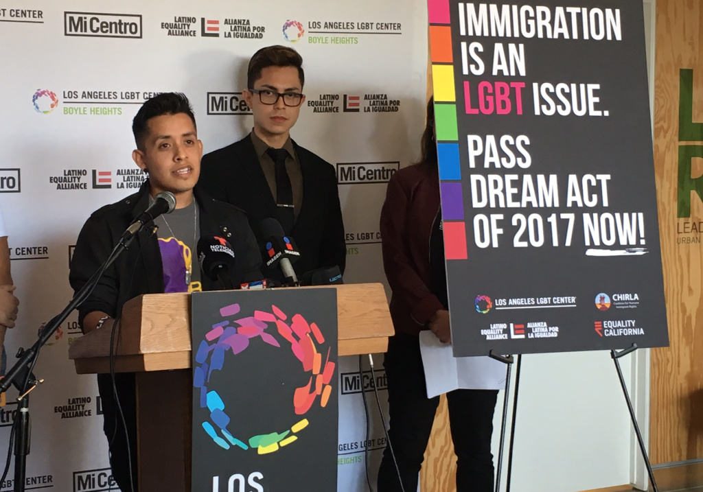 LGBT immigrants fear deportation as Congress debates whether to take up DACA