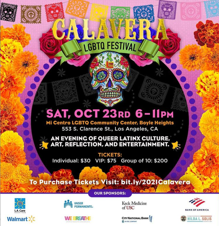 Calavera LGBTQ Festival
